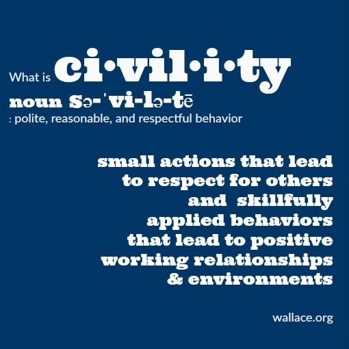 Civility Page 10 The Wallace Centers Of Iowa
