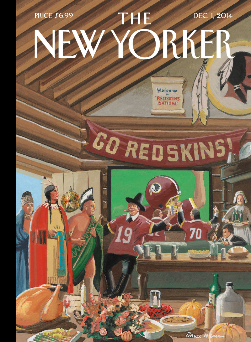 Cover of Dec 1 New Yorker