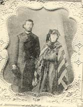 John and Martha Wallace expecting Henry, ca. 1836.