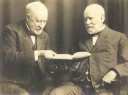 Uncle Henry with his friend and fellow Iowan Tama Jim Wilson, who served as U.S. Secretary of Agriculture for 16 years.