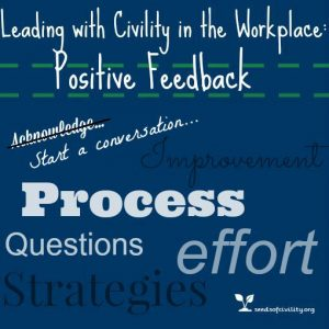 Graphic for positive feedback