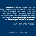 Women in Leadership: Erin Kiernan