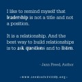 Women in Leadership: Jann Freed
